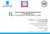 II. Kurz moderní dermatovenerologie a kosmetologie pro rezidenty a mladé lékaře v oboru
